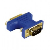 Adaptor 15-pin VGA-DVI analog HAMA
