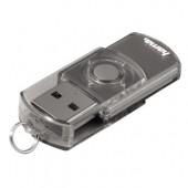 Stick USB HAMA Elatio 32GB 6MB/s argintiu