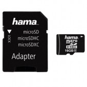Card de memorie microSDHC 16GB Class10+Adapter HAMA