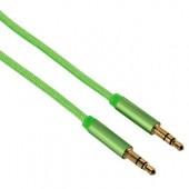 Cablu audio Jack-Jack 3.5mm pentru smartphone Gold-Plated 1.5m verde HAMA Color