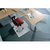 Protectie podea pentru covoare forma L 150 x 120cm RS OFFICE BSM
