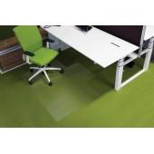 Protectie podea pentru covoare forma L 150 x 120cm RS OFFICE EcoGrip