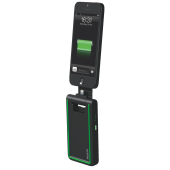Incarcator iPhone 5/6 3-in-1 conector Lightning negru LEITZ Complete