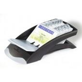 Clasor pentru 200 carti de vizita negru DURABLE Visifix Desk