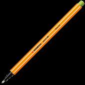 Fineliner 0.4mm verde deschis gheata STABILO Point 88-13