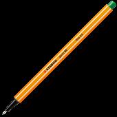 Fineliner 0.4mm verde STABILO Point 88-36