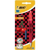 Stilou BIC EasyClic Cherry