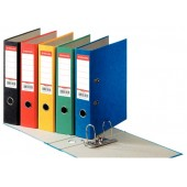 Biblioraft 7.5 cm galben ESSELTE Rainbow