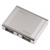 Hub USB 4 porturi argintiu HAMA