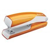 Capsator 10 coli 1 mm cutie portocaliu metalizat LEITZ MINI 5528