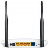 Router wireless TP-LINK TL-WR841N 300Mbps WAN LAN alb