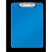 Clipboard A4 albastru metalizat LEITZ WOW