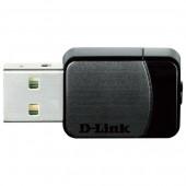 Adaptor USB Wireless Dual-Band 300 + 433Mbps negru D-LINK DWA-171