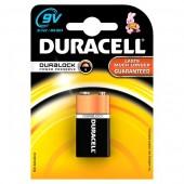Baterie alcalina 6LF22 9V DURACELL Basic Duralock