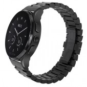 SmartWatch VECTOR Watch Luna negru satinat bratara metalica