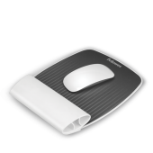 Mousepad cu suport pentru incheieturi alb FELLOWES I-Spire