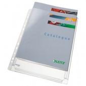 File din plastic A4 transparent 170 mic. 5 buc/set LEITZ Jumbo