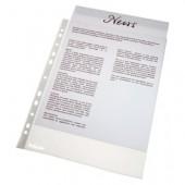 File din plastic A4 transparent 38 mic. 100 buc/set ESSELTE Standard