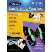 Folie laminare A3 80 microni 100 folii/cutie FELLOWES Enhance80