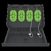 Incarcator multifunctional pentru echipamente mobile negru LEITZ Complete XL