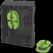 Duo-incarator de birou pentru 2 smartphone-uri sau o tableta PC negru LEITZ Complete