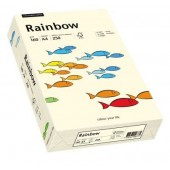 Hartie colorata A4 160 g/mp 250 coli/top crem (creme) RAINBOW