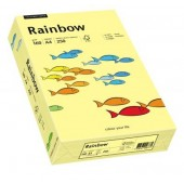 Hartie colorata A4 160 g/mp 250 coli/top galben deschis (light yellow) RAINBOW