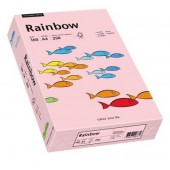Hartie colorata A4 160 g/mp 250 coli/top roz deschis (light pink) RAINBOW