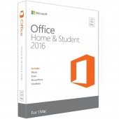 MICROSOFT OFFICE Home and Student 2016 for MAC engleza Medialess