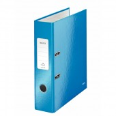 Biblioraft 8.5cm albastru metalizat LEITZ 180 Wow