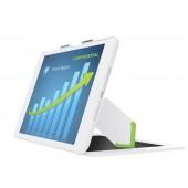 Carcasa cu filtru de confidentialitate landscape iPad mini cu retina display alb LEITZ Complete Privacy