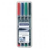 Marker non-permanent 0.8-1mm rosu STAEDTLER Lumocolor