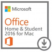 MICROSOFT OFFICE Home and Student 2016 for MAC licenta electronica - ESD All languages FPP