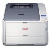 Imprimanta laser color OKI A4 USB Retea