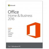 MICROSOFT OFFICE Home and Business 2016 32/64 bit Romanian EuroZone Medialess retail