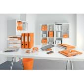 Perforator 10 coli 1 mm cutie portocaliu metalizat LEITZ MINI 5060