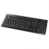 Tastatura cu fir HAMA negru