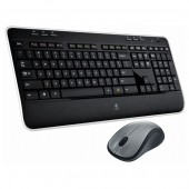 Kit tastatura + mouse wireless LOGITECH MK520 negru