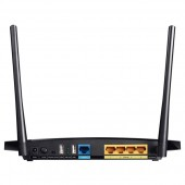 Router wireless TP-LINK TL-WDR3600 Dual-Band 300 + 300Mbps WAN LAN USB 2.0 negru