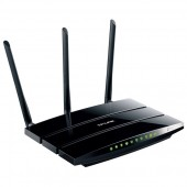 Router wireless TP-LINK TL-WDR4300 Dual-Band 300 + 450Mbps WAN LAN USB 2.0 negru
