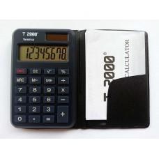 Calculator 8 dig. de buzunar cu etui , T2000