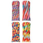 Clip-strip 8 buc. penare cu fermoar, ZIP..IT Colorz - 2 x 4 culori asortate - EAN 7290106143104