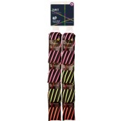 Clip-strip 8 buc. penare cu fermoar, ZIP..IT Glowy Twister - 3 culori asortate