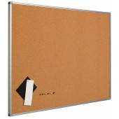 Panou pluta fina presata 60 x 90 cm, profil aluminiu SL, SMIT