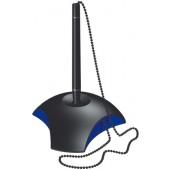 Pix cu lantisor si suport pentru birou HAN Delta - negru/albastru